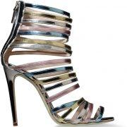 Giannico-Metallic-Leather-Strappy-Sandals