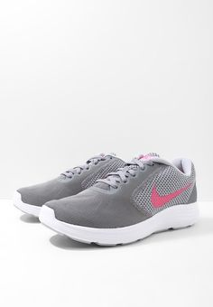 newest 775df a18e9 Nike Performance REVOLUTION 3 - Neutrala löparskor - cool grey deadly pink wolf  grey