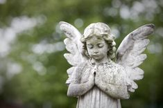 Angel, Cemetery, Statue, Tombstone, Cherub, Child, Stone, Grave ...