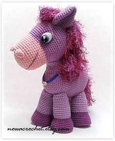 Pony Lilla amigurumi PDF crochet pattern por Nowacrochet en Etsy