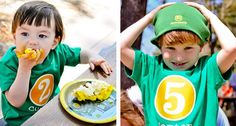 John Deere Tractor Party Ideas. See more at www.karaspartyideas.com