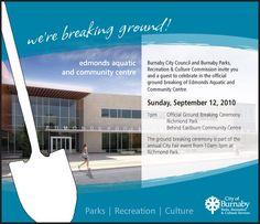 Groundbreaking Ceremony Invitation Templates; Groundbreaking ...