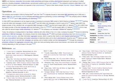 #Wikipedia editors been working on @4INFO page. Glad 2 see paragraphs again. Great improvements! https://en.wikipedia.org/wiki/4INFO