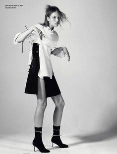 Suvi Koponen for i-D Magazine by Christian MacDonald
