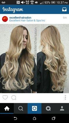 Blonde balyage