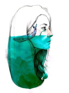 Difficult situation - mental illness she had the ocean inside her