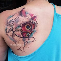 princess mononoke tattoos - Recherche Google
