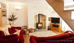 4 Star Self Catering Holiday Cottage near Swansea & Neath Port Talbot. This is the slightly smaller cottage which was renovated in 2008 in a manner which retains and enhances the simplicity and sense of history of the cottage.  It is 4 stars accredited.   This luxury holiday cottage is well equipped with all that is expected of a modern home from home but with many historical references, several of a local nature.  It also has beautiful countryside views. #welshbreaks #welshholidays