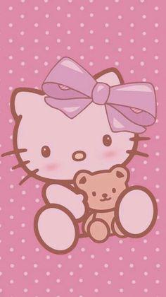 """Wallpapers dos meus temas diy """"Hello Kitty"""""""