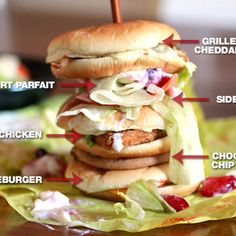 This is good for dieting...  RT Here's a sandwich made of EVERYTHING on the McDonald's Dollar Menu
