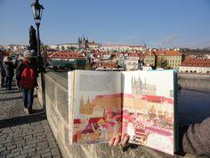 Prague, Illustration, Illustrations