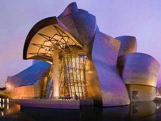Architect Frank Gehry - The Guggenheim, Bilbao Spain