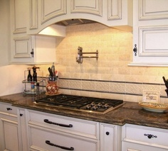 Beautiful Tile Work - traditional kitchen by Design Moe Kitchen & Bath / Heather Moe designer