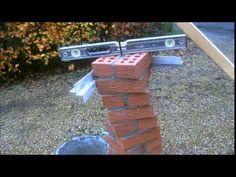 the fine art of brickwork - Triple twist of the Arches Brick House Designs, Bungalow House Design, House Front Design, Brick Design, Exterior Tiles, Exterior Design, Hotel Floor Plan, One Storey House, Brick Columns
