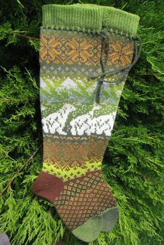 Norwegian socks Kauni yarn Christmas s… Long knit socks knitted socks Wool socks. gift to woman gift to man. Women socks by WoolMagicShop on Etsy Crochet Socks, Knit Socks, Knitting Socks, Hand Knitting, Knitted Hats, Norwegian Knitting, Colorful Socks, Knitting Accessories, Textiles