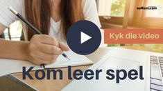 Leer jou kind beter spel — 6 onverwagse wenke | oolfant.com: tuisskool in Afrikaans Spelling For Kids, Spelling Words, Preschool Binder, Afrikaans Language, Susan Wise Bauer, E Words, Kids Poems, School Projects, Education