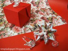 origami com papel perfumado