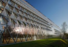 European Investment Bank, Luxembourg by Ingenhoven Architects