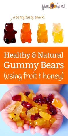 Here's a healthy gummy bear recipe that uses just fruit, honey, gelatin, and love. A tasty take on the classic (but kinda junky) kid's candy.