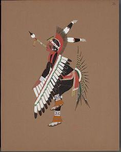 The most amazing Illustrations of Native American Indians