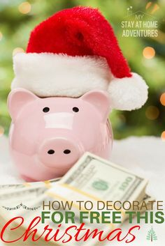 The holiday season is wonderful but not so wonderful on your wallet! To help you check out these awesome ideas to decorate for free this Christmas.