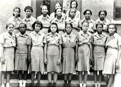 First African American Girl Scout Troop, ca. late 1930s❤