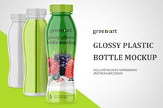 Visualize your ideas on this great mockup of a glossy plastic bottle in a front view. Outstanding quality. Simple to recolor different parts separately. Includes special layers and a smart object for your amazing artwork.  This product is available for purchase only on Creative Market.  Sample design is not included in the download file.
