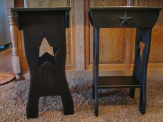 Black Primitive Star Tables https://www.facebook.com/pages/Primitive ...