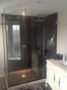 Here we have a bespoke shower cubicle made to our …