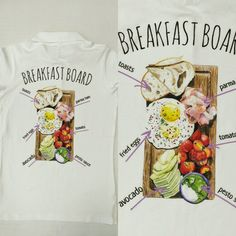 Поло для кафе, шелкография #madeinfabrika#fabrika#шелкография#screenprinting#футболка#tshirt#печатьнафутболках#футболканазаказ#майка#москва#россия#подарок#еда #кафе #ресторан #принт #поло #завтрак