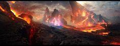 Diablo III - FanArt - Mount Arreat by =Grivetart on deviantART