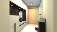 Beépített előszoba fal - előszoba ötletek, modern stílusban Fal, Mirror, Bathroom, Modern, Furniture, Home Decor, Washroom, Homemade Home Decor, Trendy Tree