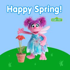 Abby Wishes You a Happy First Day of Spring to all of you!