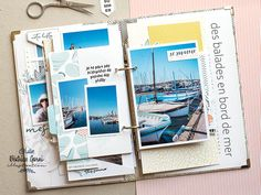 Mini Albums Scrapbook, Scrapbooking, Julie, Creations, Illustration, Digi Stamps, Adventure, White People, Illustrations
