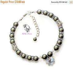 SALE, 25% OFF Little Girl Bracelet, Personalized Little Girl Jewelry, Little Girl Gift, Flower Girl Bracelet, Personalized Jewelry, Little G