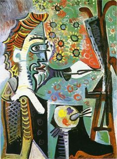 An artist - Pablo Picasso, 1963