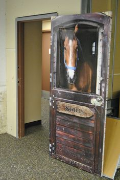 Horse Barn door wrap