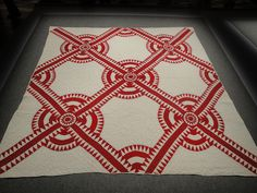 Infinite Variety: Three Centuries of Red and White Quilts by Joe Architect, via Flickr