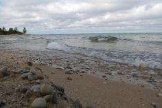 Sights and Sounds: Wavy Day On Lake Michigan At Cross Village - Northern Michigan's News Leader