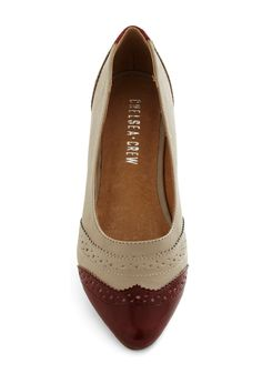 Becoming and Going Flat in Chestnut. I FOUND THEM. I've been looking for these shoes for a while.