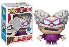 Funko Professor Poopypants (f. Movies x Captain Underpants Vinyl Figure + 1 CG Animation Themed Trading Card Bundle [ / Funko Pop Dolls, Funko Pop Figures, Vinyl Figures, Action Figures, Purple Suits, Pink Suit, Captain Underpants Toys, Legos, Batman Figures