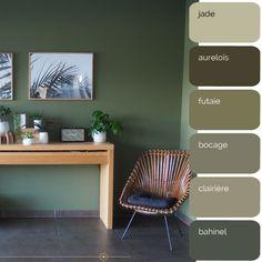 Living Room Color Schemes, Home Cinemas, Paint Schemes, Room Colors, Interior Paint, Bathroom Inspiration, Green Colors, Color Inspiration, Sweet Home