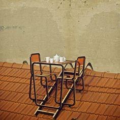 Ridged Roof Furniture, 2012  Ainė Bunikytė  www.diz-aine.daportfolio.com  via dezeen.com    for #installation