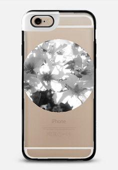 B&W flowers iPhone 6 case by littlesilversparks | Casetify