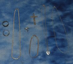 LOT OF STERLING AND 925 SILVER JEWELRY NECKLACES CLIP EARRING PENDANT RINGS + #mixed