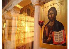 Ήταν ένας πατέρας που μεγάλωνε ένα ανάπηρο παιδί μόνος του.  Το παιδί ήταν κατάκοιτο στο κρεβάτι.  ... Christian Art, Religion, Painting, Cyprus, Romania, Ukraine, Georgia, Faith, Christianity