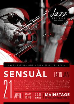 Jazz festival by Ashraff Tashta, via Behance
