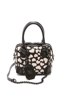 mini heart bag