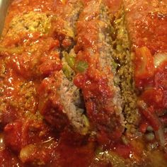 American style meatloaf