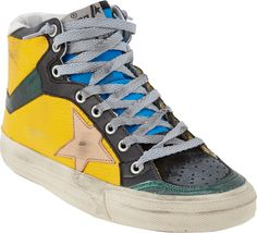 Golden Goose Distressed 2.12 Sneakers on shopstyle.com